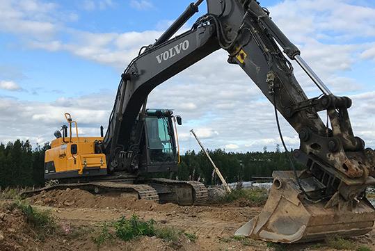 Maanrakennustyöt / Jordbyggnadsarbeten