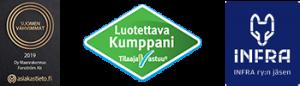 Luotettava Kumppani, Suomen Vahvimmat 2019, Infra