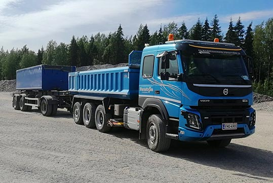 Maanrakenuus Forsström Kuljeturpalvelut
